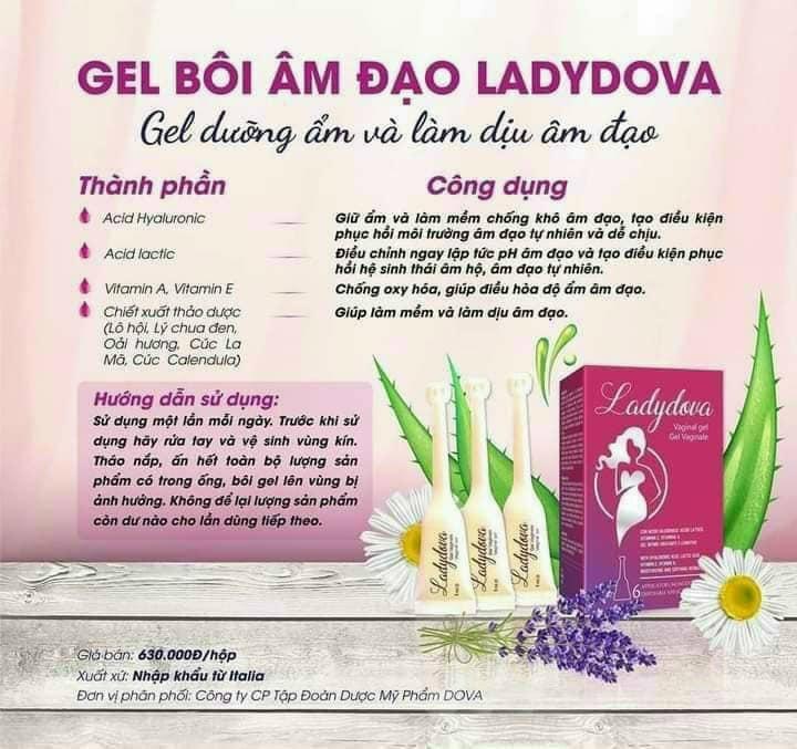 Gel bơm ladydova